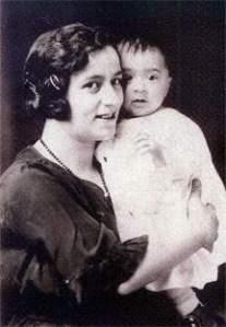 Jennie with son, John